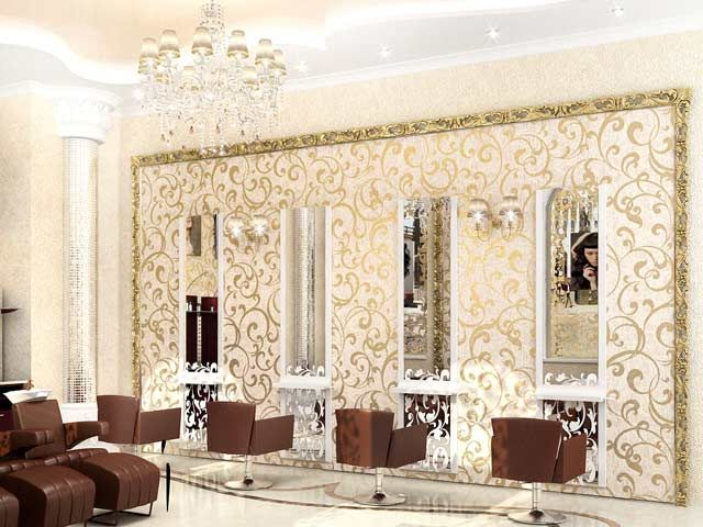 Interior, Design, Ideas, Chairs, Beauty Salon, Mirrors