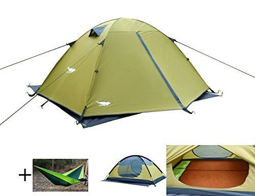 Luxe Tempo Enhanced 2 Person Tents for C&ing 3-4 Season Backpacking Tents with Free  sc 1 st  Pinterest & Luxe Tempo Enhanced 2 Person Tents for Camping 3-4 Season ...