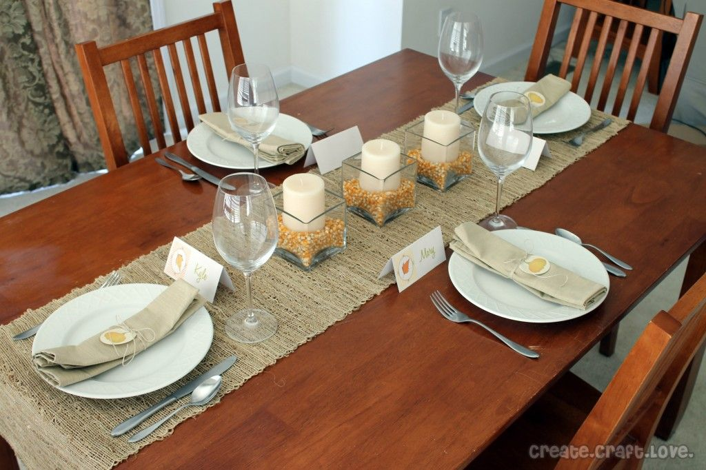 Dining Room Table Idea Love The Table Runner And Candles No