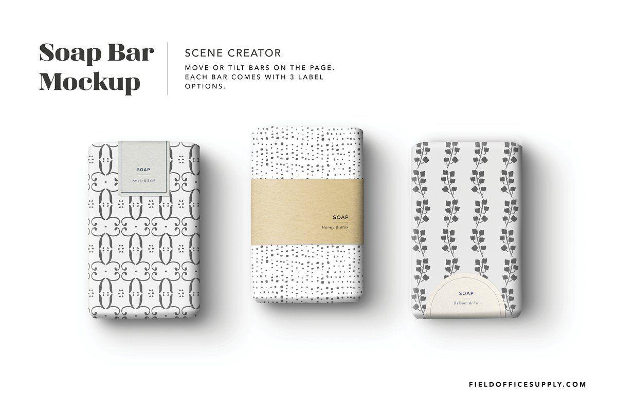 Soap Bar Mockup Social Media Mockup Instagram Mockup Bar Soap