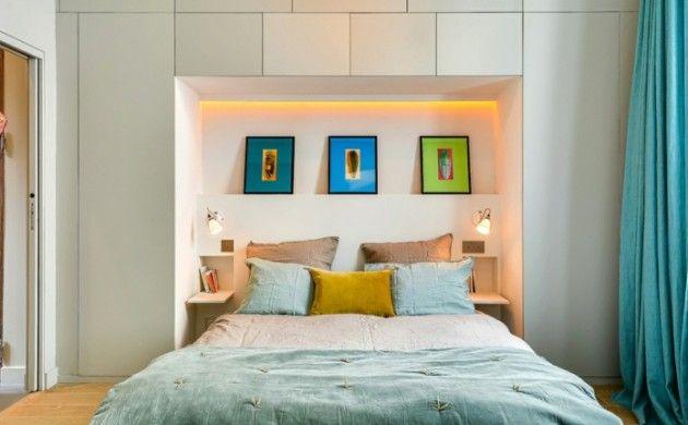 Fesselnd Schlafzimmer Gestalten Kreative Wandgestaltung Ideen