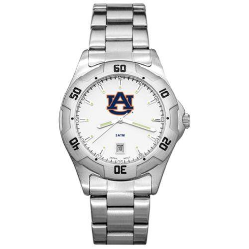 Auburn University AllPro Men's Chrome Watch Watches for