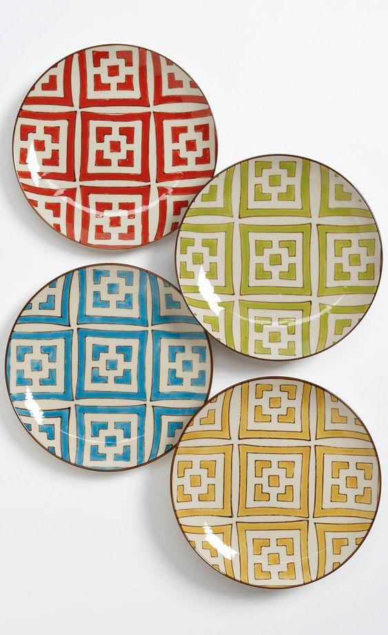 Moroccan Dessert Plates belong in my home.