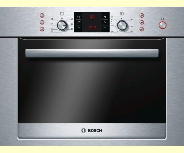 Bosch Hbc84e653b Steel Integrated Combi Microwave Oven