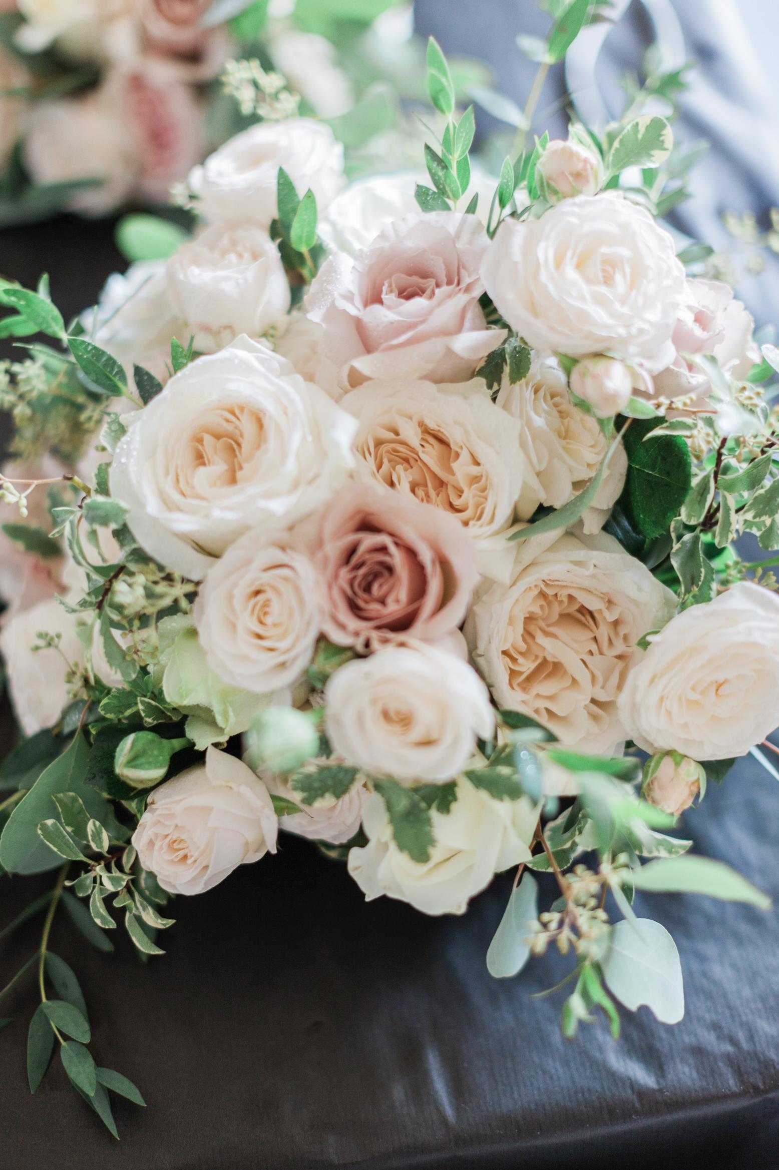 English Country Garden Bridal Bouquet Wedding Bouquets Pink Garden Rose Bouquet Wedding Flower Bouquet Wedding