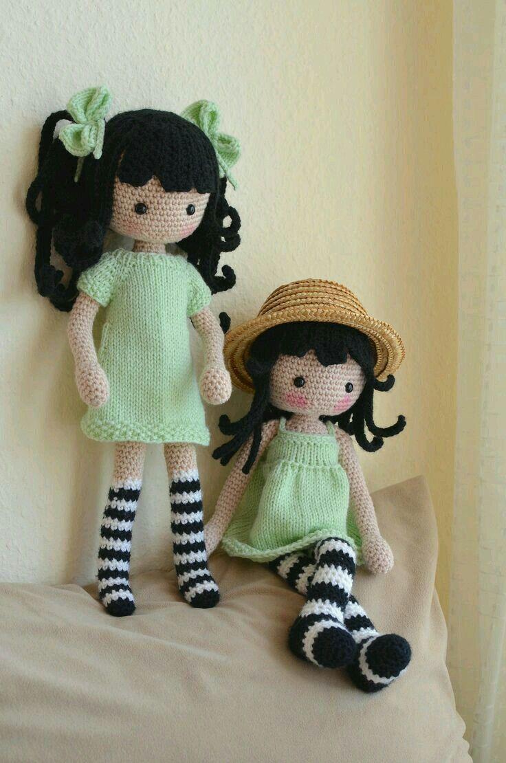 amigurumi crochet pinterest puppen h keln und amigurumi. Black Bedroom Furniture Sets. Home Design Ideas