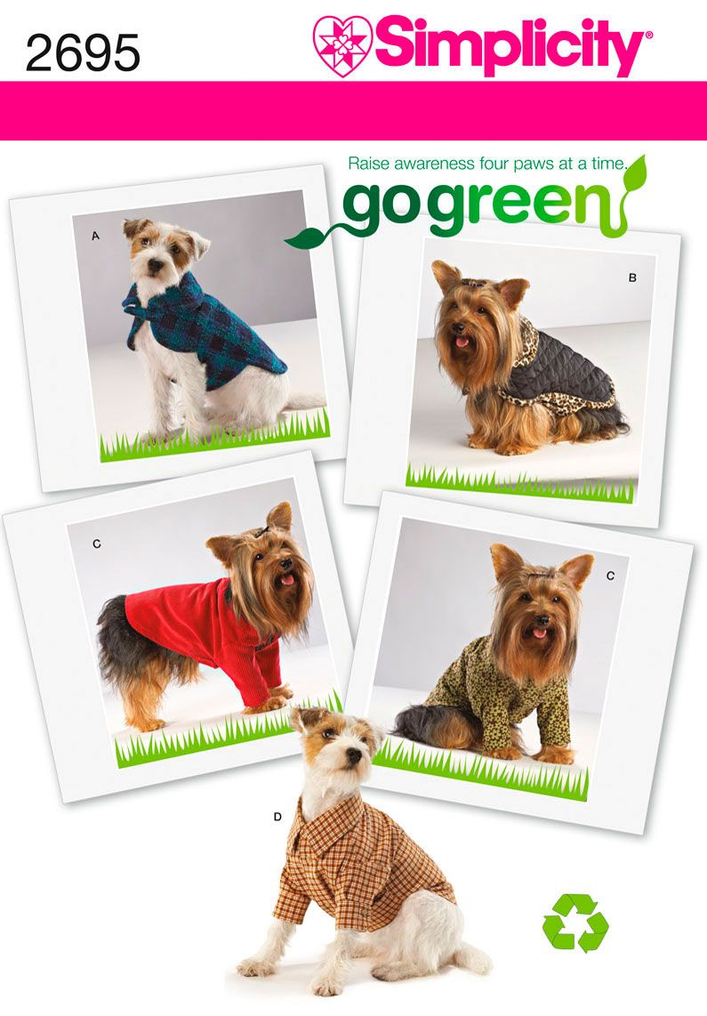 Dog Clothes Pattern - I want this just for the dress shirt! But I\'m ...