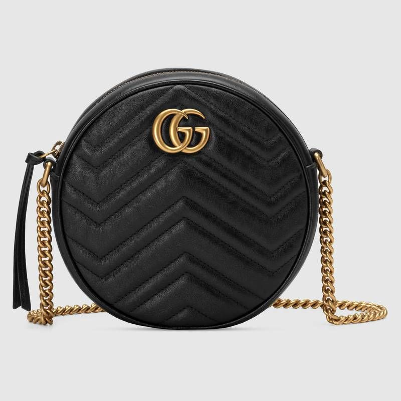 bad11e20f GG Marmont mini round shoulder bag in 2019 | Ooh pretty | Bags ...