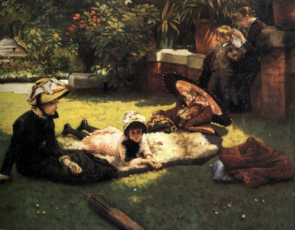 En plein soleil c 1881 - James Tissot