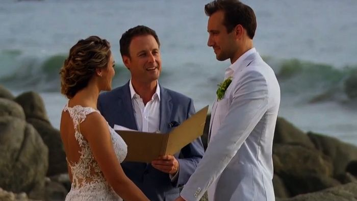Bachelor In Paradise Wedding Was Fake The Knot Was Not Tied