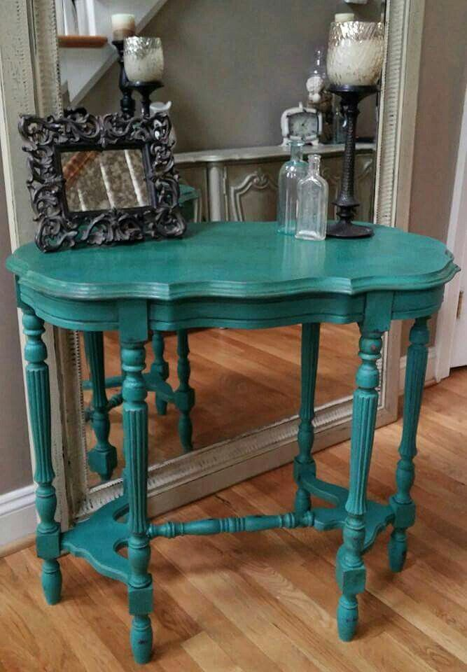 Painted End Table Ideas Shabby Chic
