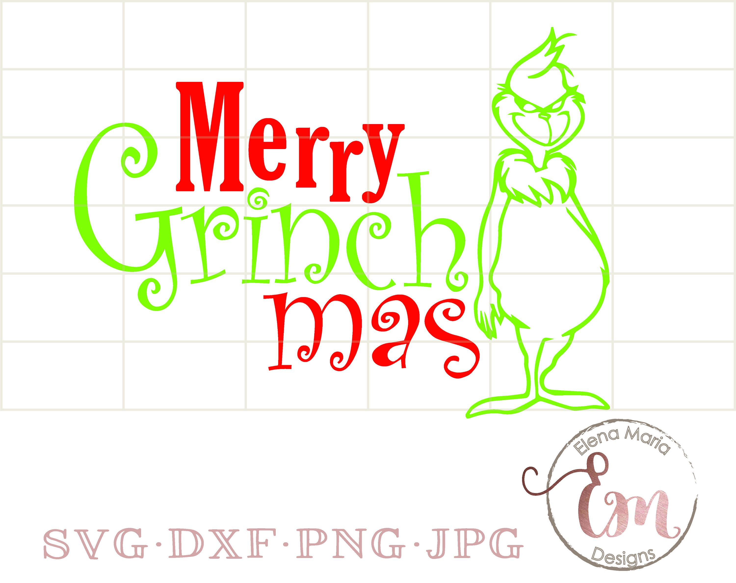 The Grinch Mask Svg