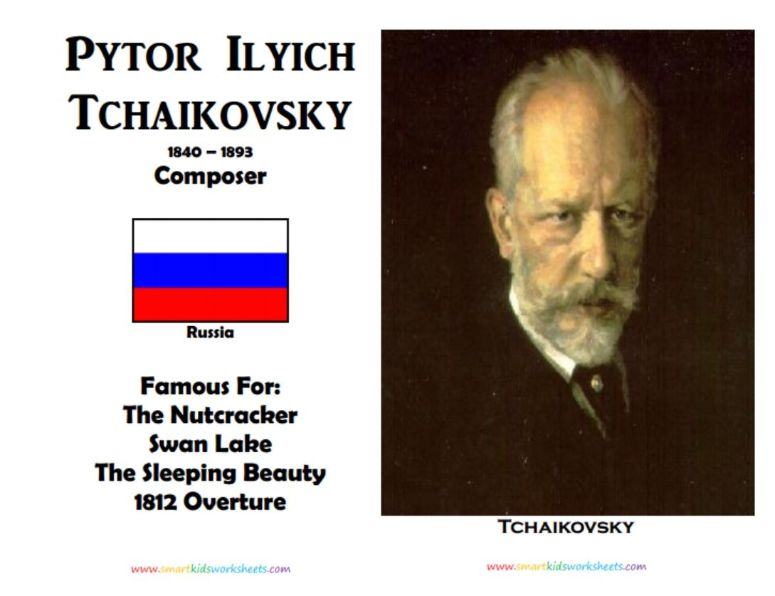 Marc Chagall Pytor Ilyich Tchaikovsky Coloring Pages And