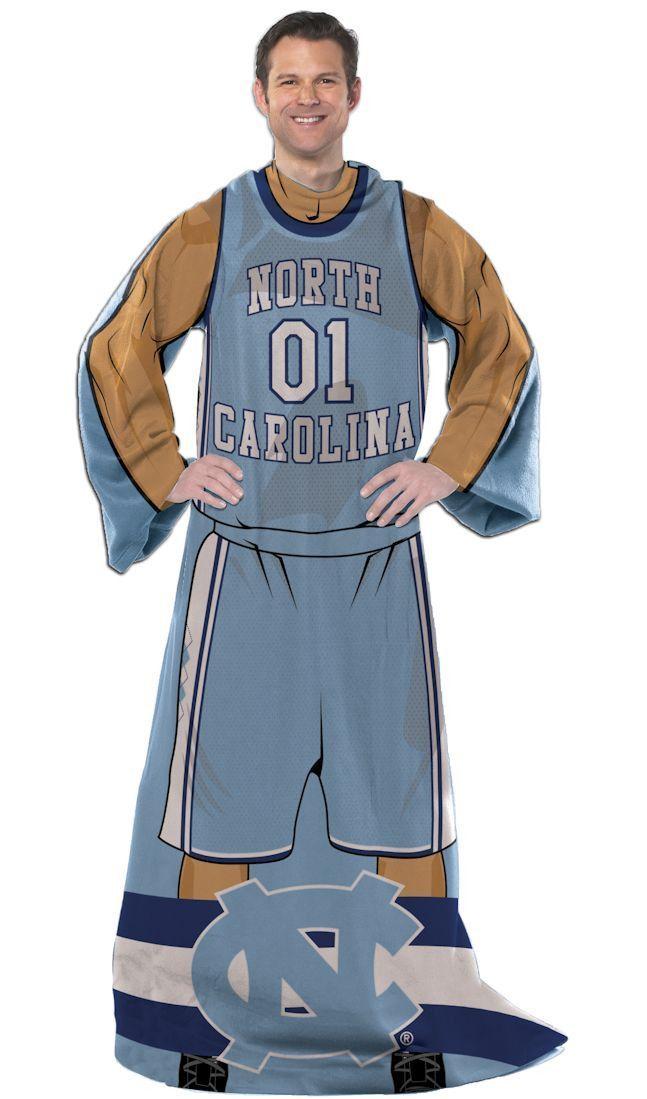 North Carolina Tar Heels Comfy Throw - Player Design