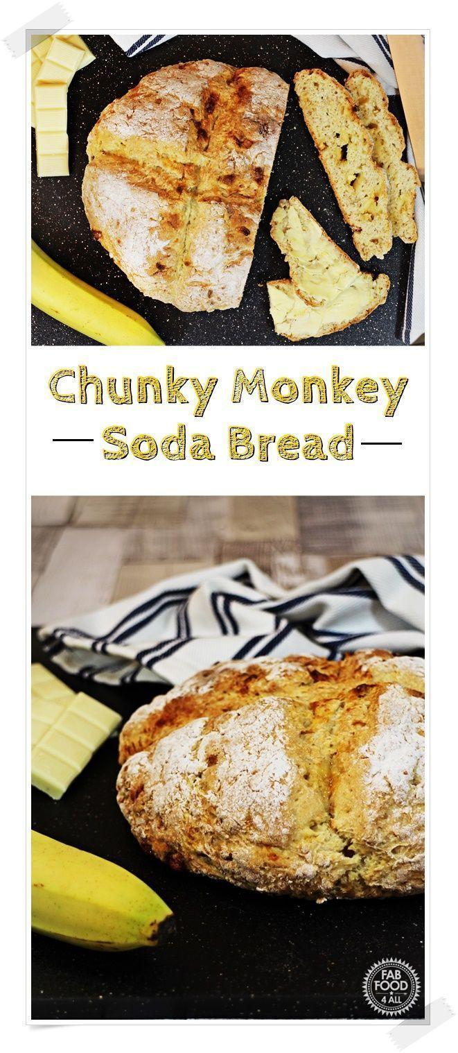 Chunky Monkey Soda Bread - Fab Food 4 All