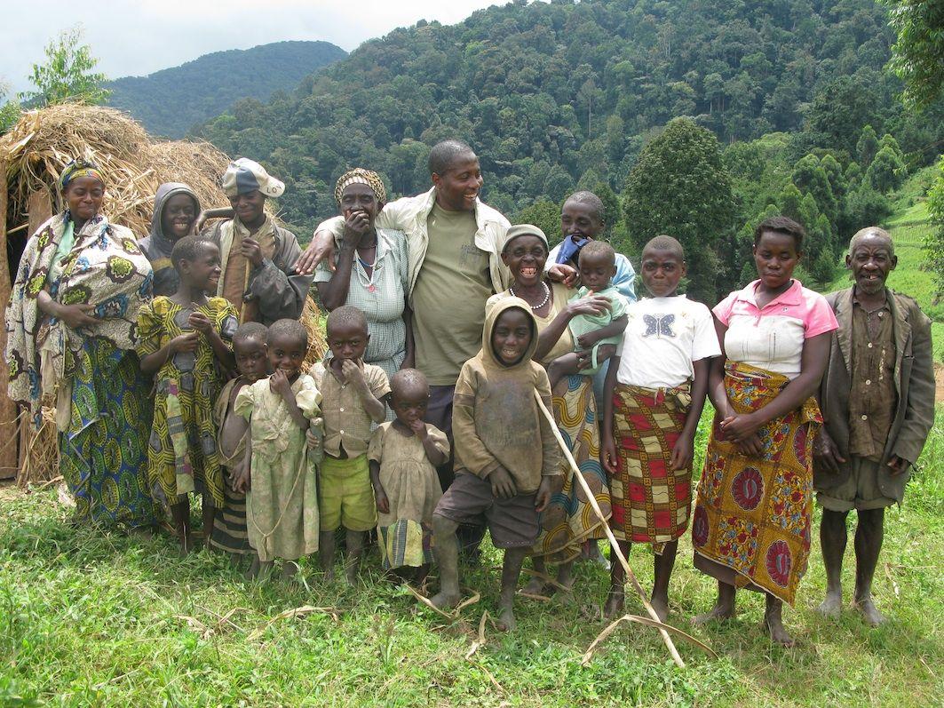 The Pygmy Batwa Tribe UgandaAfrica