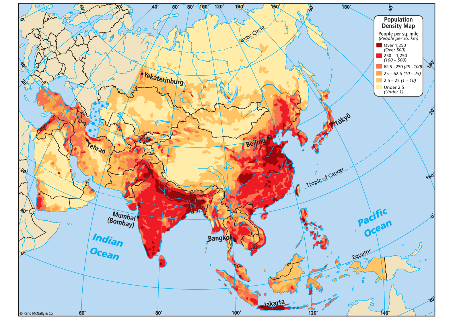 Climate Maps Of Asia