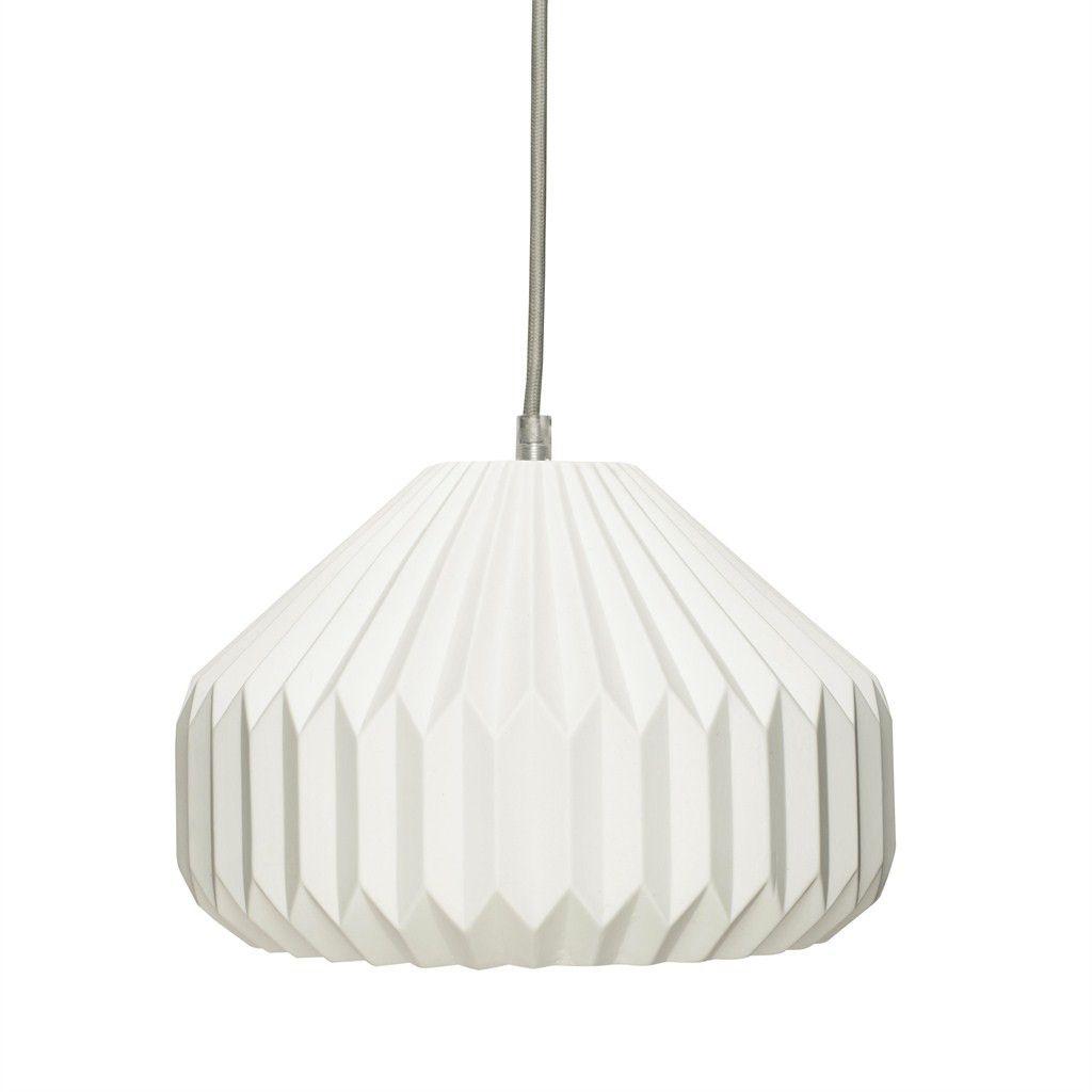 Hübsch Lampe m/riller, keramik, hvid | Lamps | Pinterest | Lampen ...