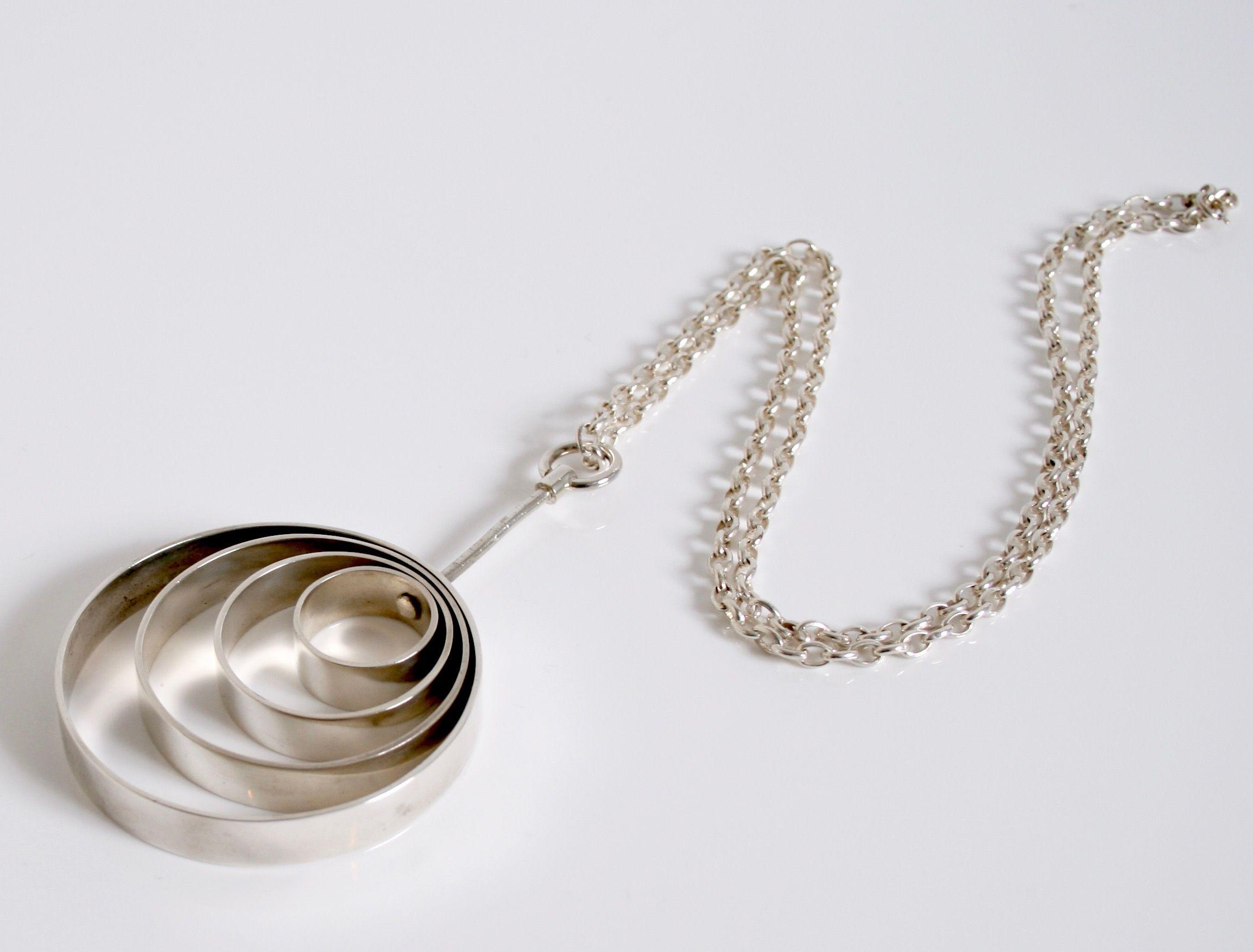 Anton Michelsen Denmark Rare Vintage Pendant Scandinavian Jewelry Pendants Vintage Pendants