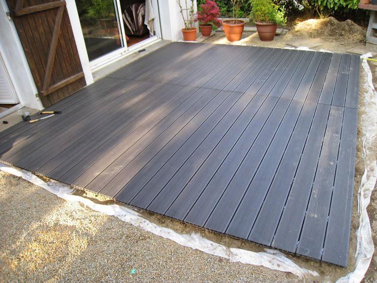 Comment Poser Une Terrasse Composite Sur Lambourdes Et Plots Terrasse Faite Maison Terrasse Bois Composite Et Terrasse Composite