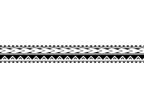 Maori Band Tattoo Design: Tongan/Samoan Arm Band Tattoo (2) By ~xSiiANA On