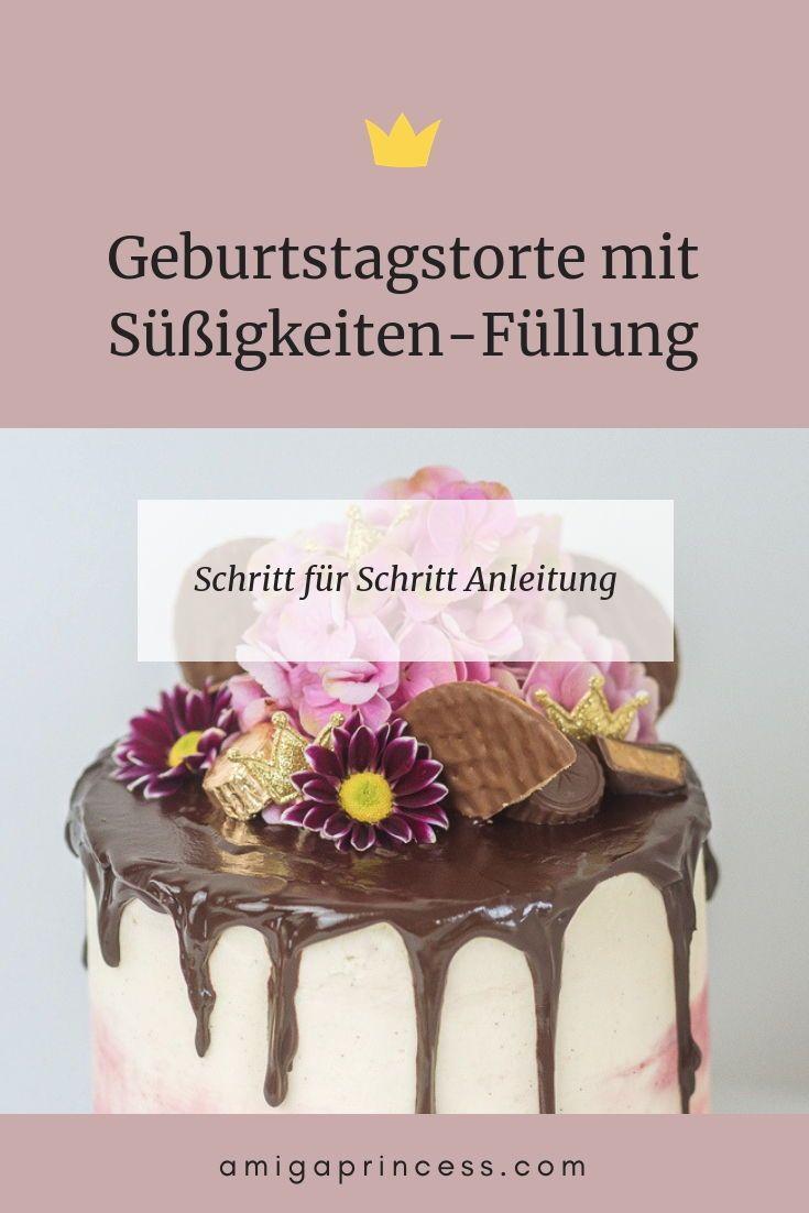 Photo of Pinata Cake – DIY Geburtstagstorte mit Süßigkeiten-Füllung* –