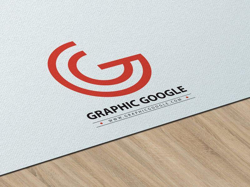 Free Texture Paper Logo PSD Mockup | Logo psd, Mockup and Logos