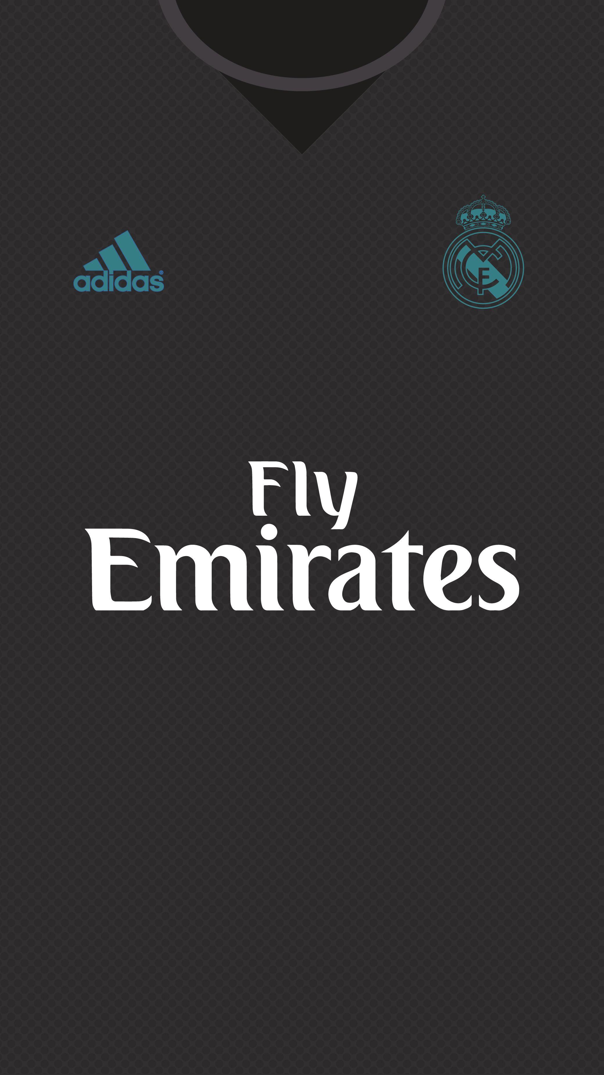 Real Madrid Kit 2017/18 | Wallpaper for mobile on Behance ...