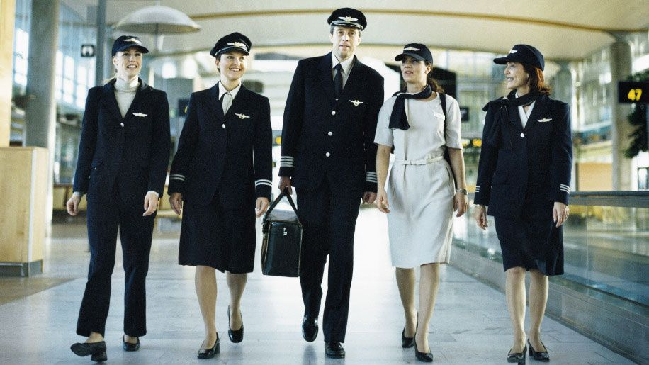 Scandinavian Airlines Sas Scandinavian Airlines System Airline Cabin Crew Flight Attendant Uniform