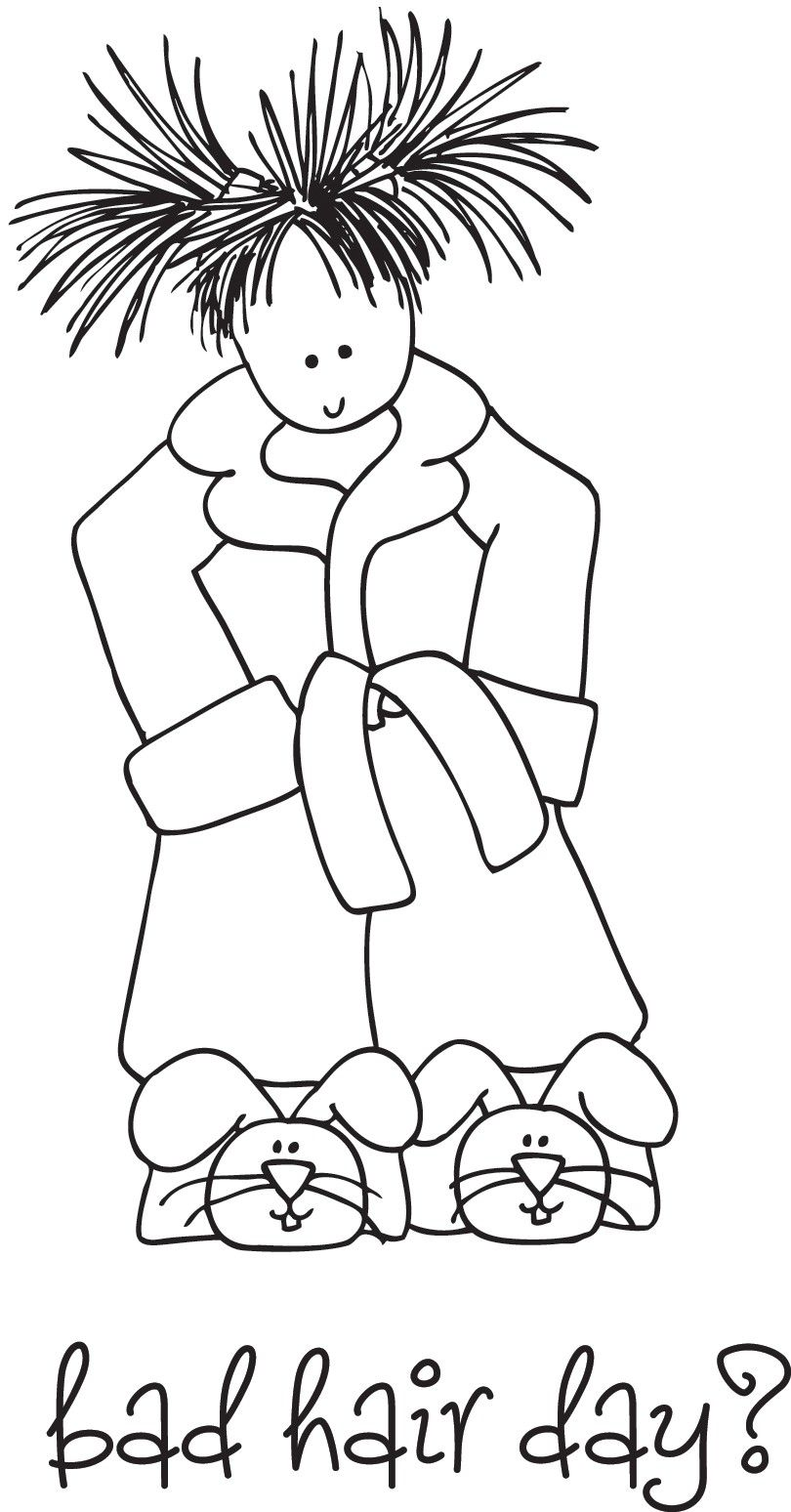 Stamping bella clipart and coloring page - Google Search