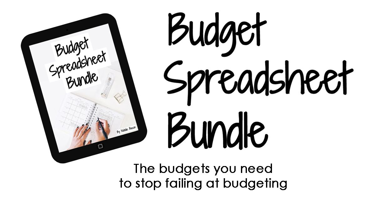 Budget spreadsheets for creating a monthly budget, tracking your net - net worth spreadsheet