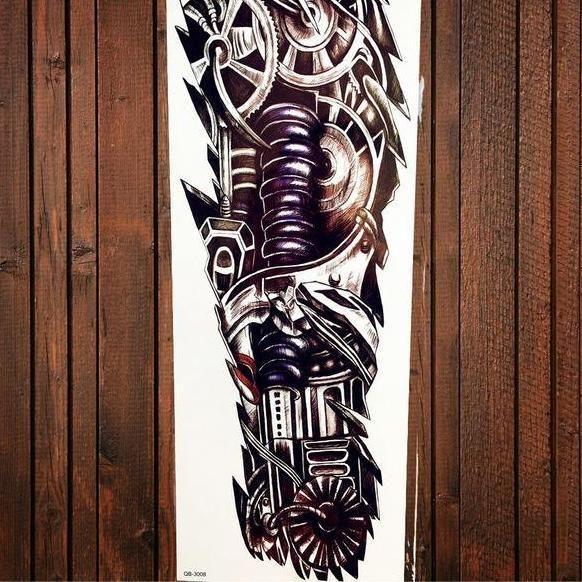 5dea4356253ce 25 designs Full Arm Temporary Tattoo   Tattoos & Body Art ...