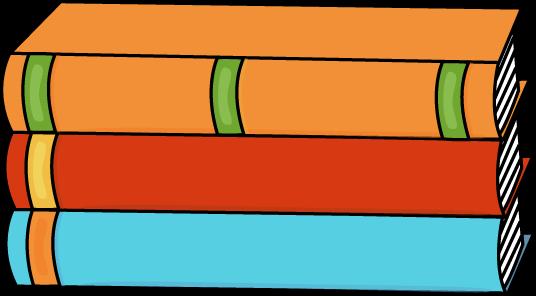 Stack Of Three Books Book Clip Art Clip Art Book Spine