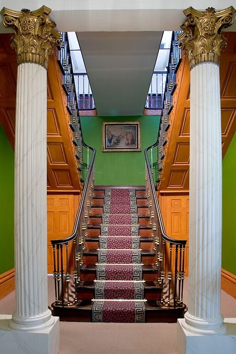 Staircase owens thomas house savannah notice the - Georgia furniture interiors savannah ga ...