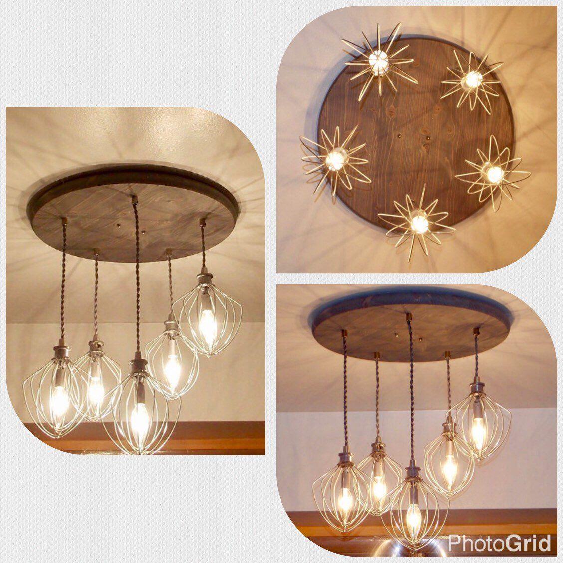 Dining chandelier rustic modern pendant lights wood rustic