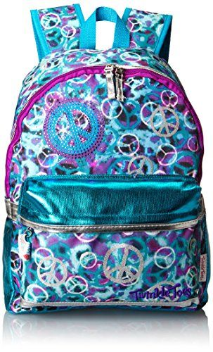 Skechers Girls 7-16 Cheetah Puff Metallic Backpack, Black Silver ...