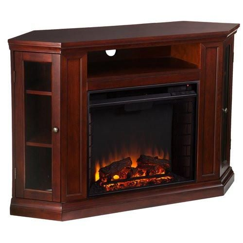 winwood corner media center with electric fireplace products rh pinterest com Electric Fireplace Entertainment Center Electric Fireplace TV Stand