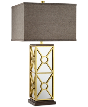 Kathy Ireland Closeout Pacific Coast Romana Mirrored Table Lamp Reviews All Lighting Home Decor Macy S Mirror Table Lamp Mirror Table Table Lamp