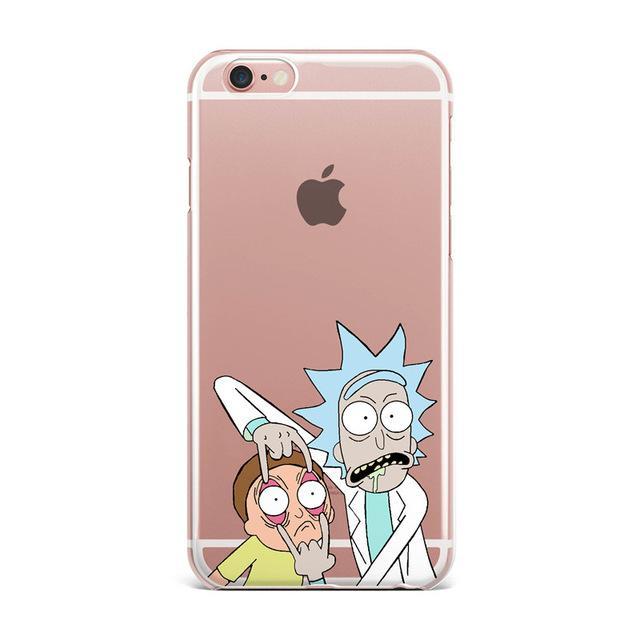 cover iphone 5 rick e morty