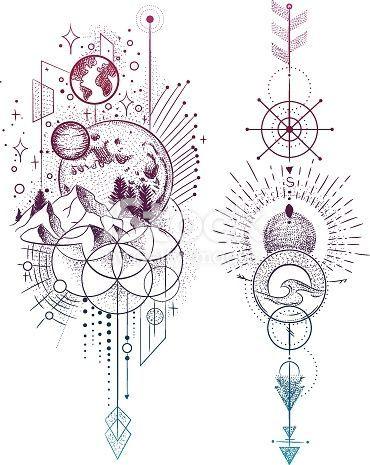 Photo of Ensemble d'illustration vectorielle des phases de la lune. Différentes phases du clair de lune … – Art