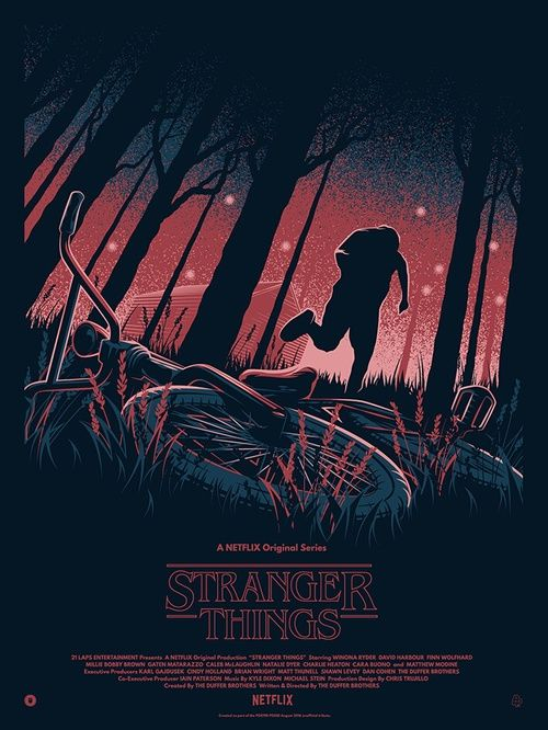 Wallpaper Netflix And Poster Image Stranger Things Poster