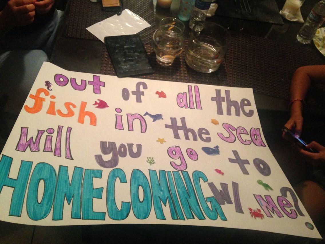 Black dress homecoming poster