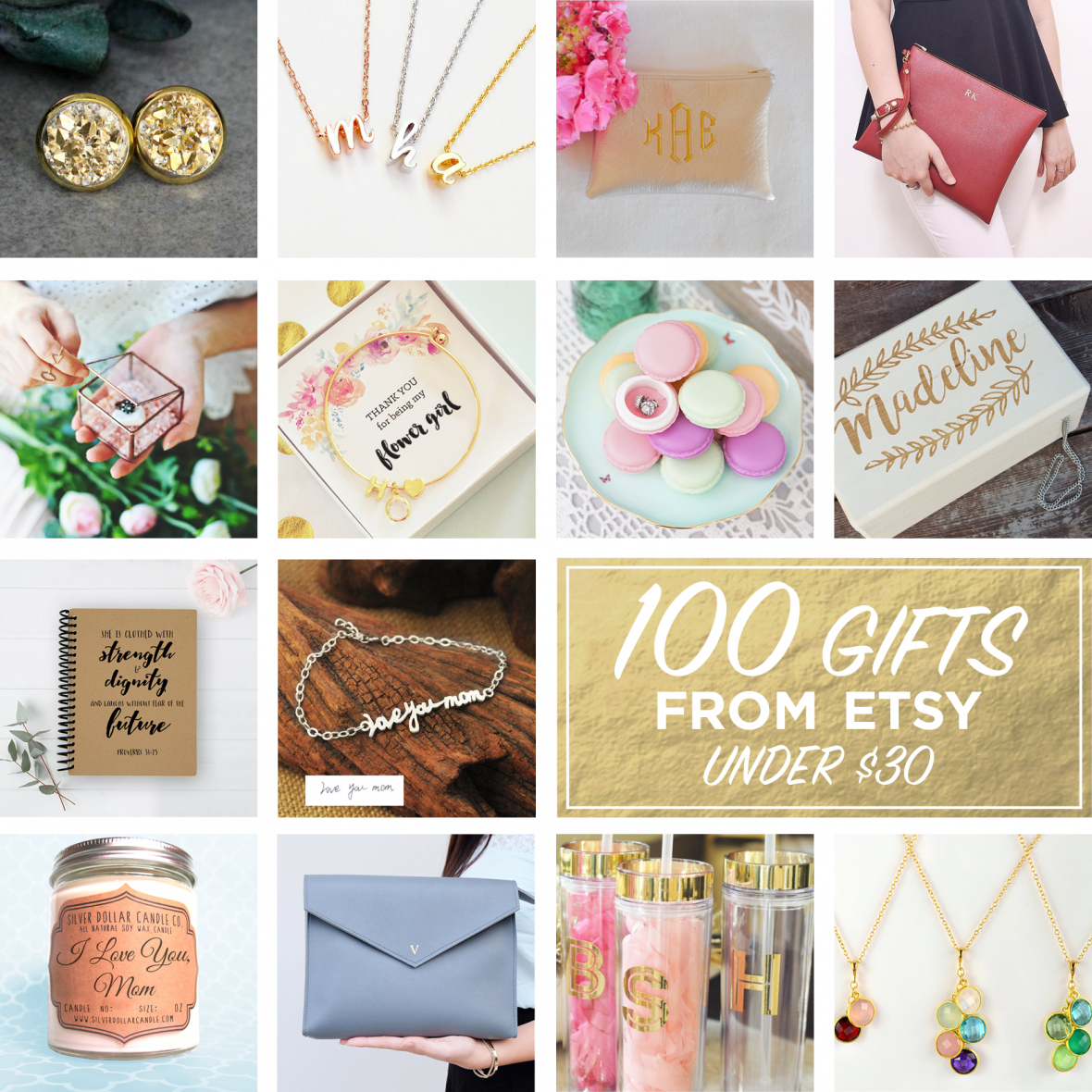Top 100 Wedding Gifts: 100 Handmade Gifts For Everyone In Your Wedding Party