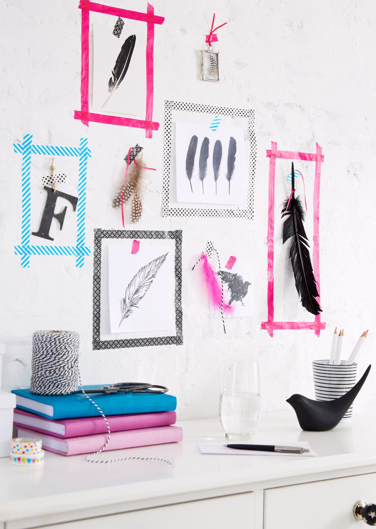 Who needs picture frames use tesa deco tape to simply and easily who needs picture frames use tesa deco tape to simply and easily create your jeuxipadfo Choice Image
