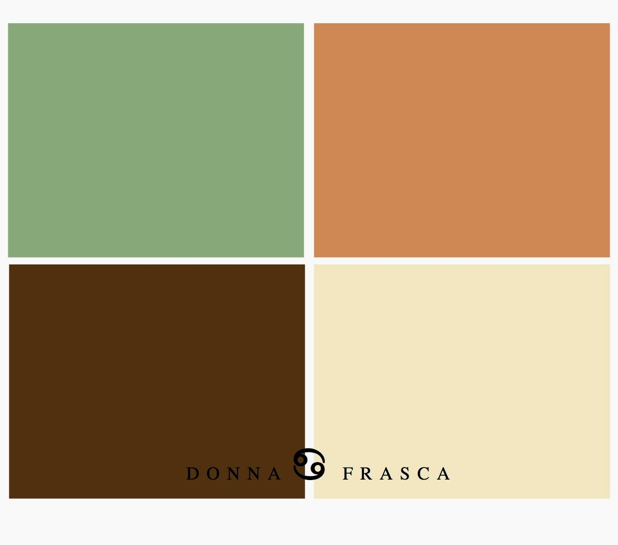 Image Result For What Colors Go Good With Orange Walls