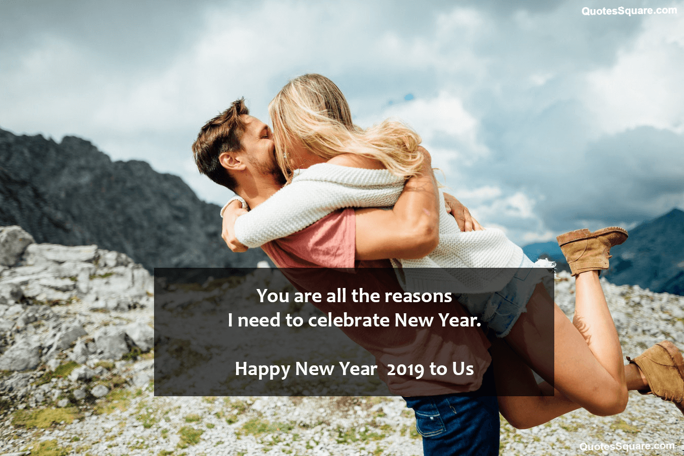 Cute new year 2019 love wishes for him her