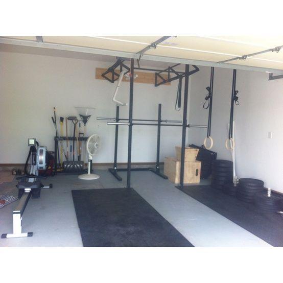 Turning your garage into a gym garage gym crossfit garage gym