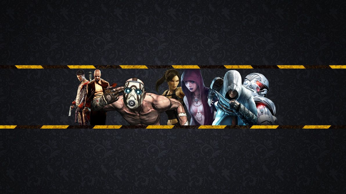 Youtube Gaming Banners Gaming Banner Banner Template Youtube Banner Backgrounds