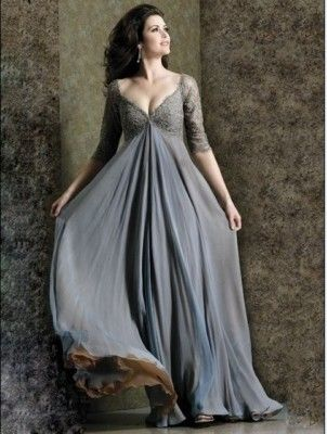 Gray Wedding Dress  http://www.uniqueweddingaccessories.blogspot.in/2013/05/gray-wedding-dress.html