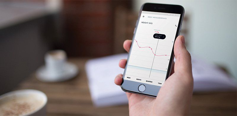 Withings Smart scale, App design, Health